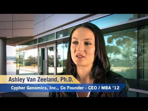 Rady MBA Monday: Ashley Van Zeeland on Launching a Startup
