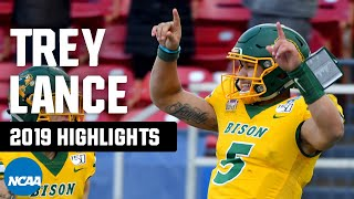 Trey Lance: North Dakota State QB's 2019 FCS playoff highlights