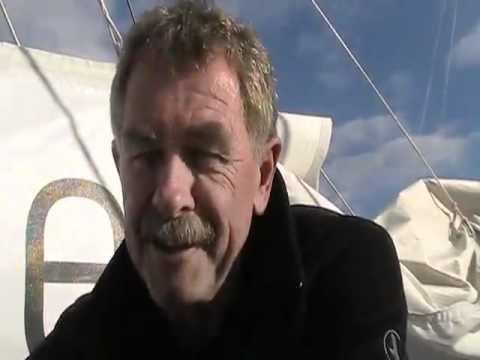 Derek Hatfield on the eve of the 2010 Velux 5 Oceans Race