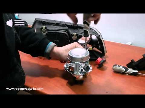 Passat B5 FL xenon -- Problem with headlights  - a solution of how to take out the lens from Passat