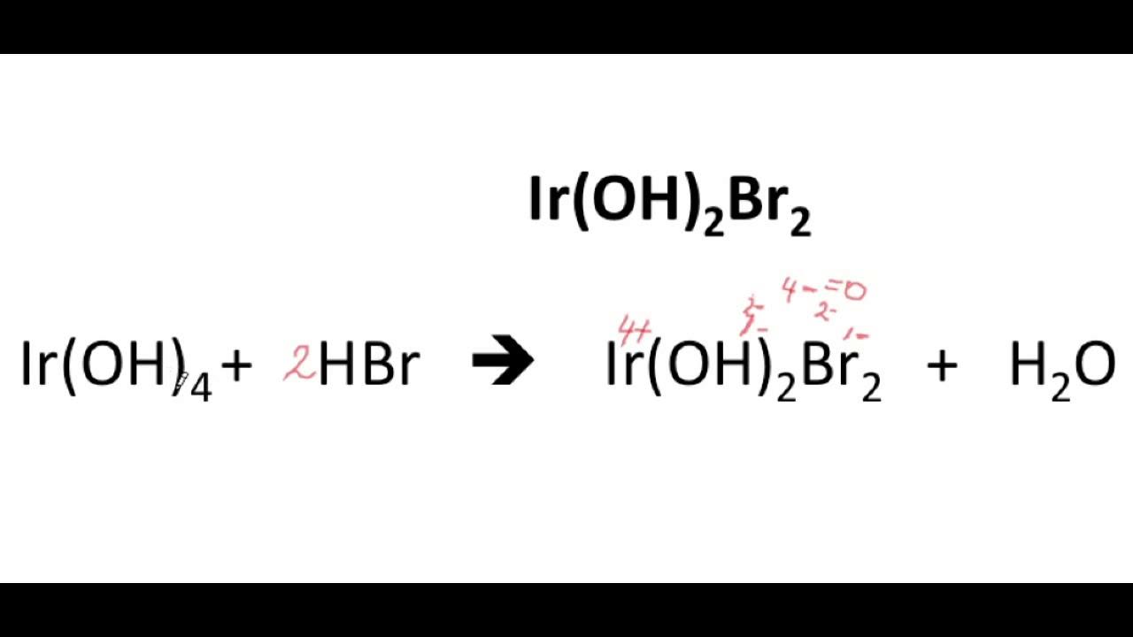 ejercicios de sales halogenas basicas