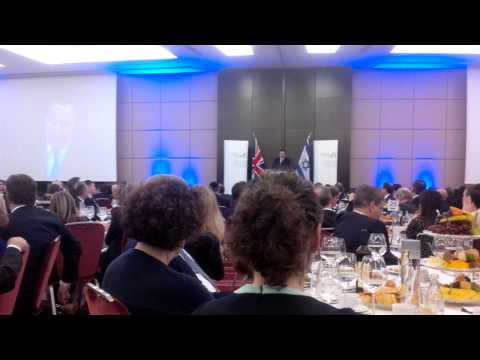 David Cameron, 16th December 2014. Conservative Friends of Israel annual lunch, London