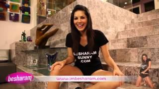 Sunny Leone  says I'm besharam Bloopers xxx 2016 full video