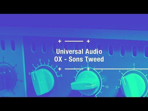 Universal Audio OX - Les sons Tweed