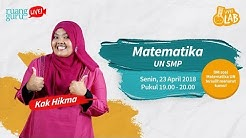 RG Live - Ujian Nasional Matematika SMP