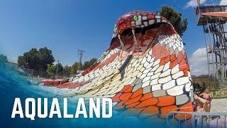 Water Slides at Aqualand El Arenal, Mallorca