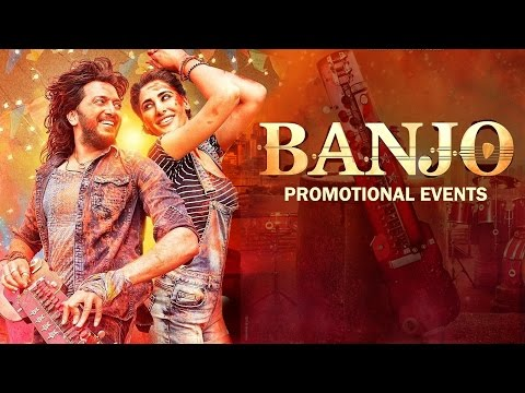 BANJO Promotional Events | Riteish...