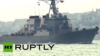 US destroyer Donald Cook enters Black Sea amid Ukraine tension