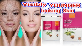 Vlcc Anti Ageing Night Cream Review Visibly YOUNGER looking Skin || Beauty With Easy Tips