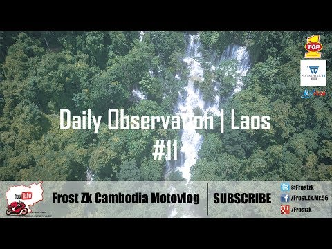 The MOST FAMOUS Waterfall in Laos | Kung Si Waterfall