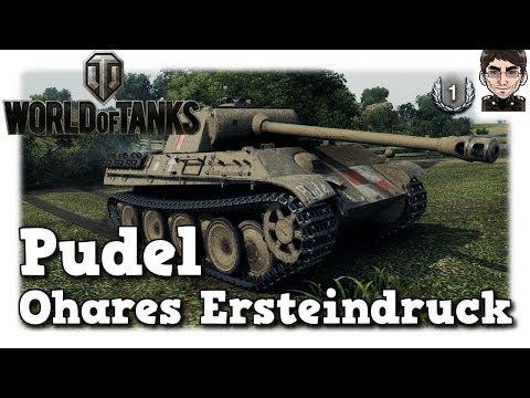 World of Tanks - Pudel, Ohares Ersteindruck vom polnischen Premium [deutsch | gameplay]