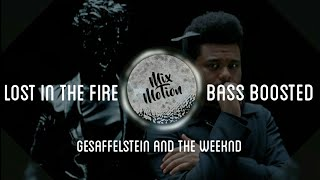 Lost In The Fire Gesaffelstein The Weeknd Bass boosted.mp3
