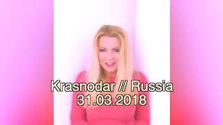 Lian Ross Krasnodar Russia 31 March 2018 @ www.OfficialVideos.Net