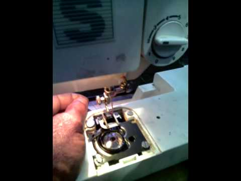 maquina de coser singer (debutante) - YouTube