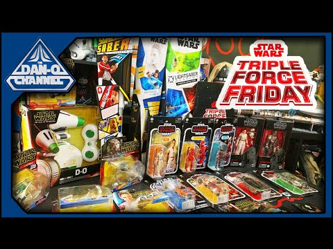 Star Wars #TripleForceFriday Haul! Force Friday 2019 Episode IX And Mandalorian Toy Haul!