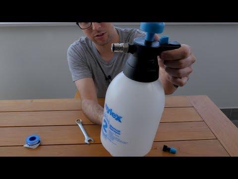 DIY Beer Line Cleaner for under $15