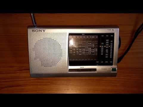 BSKSA 1 (Saudi Arabia) 17805 khz Sony ICF-SW11