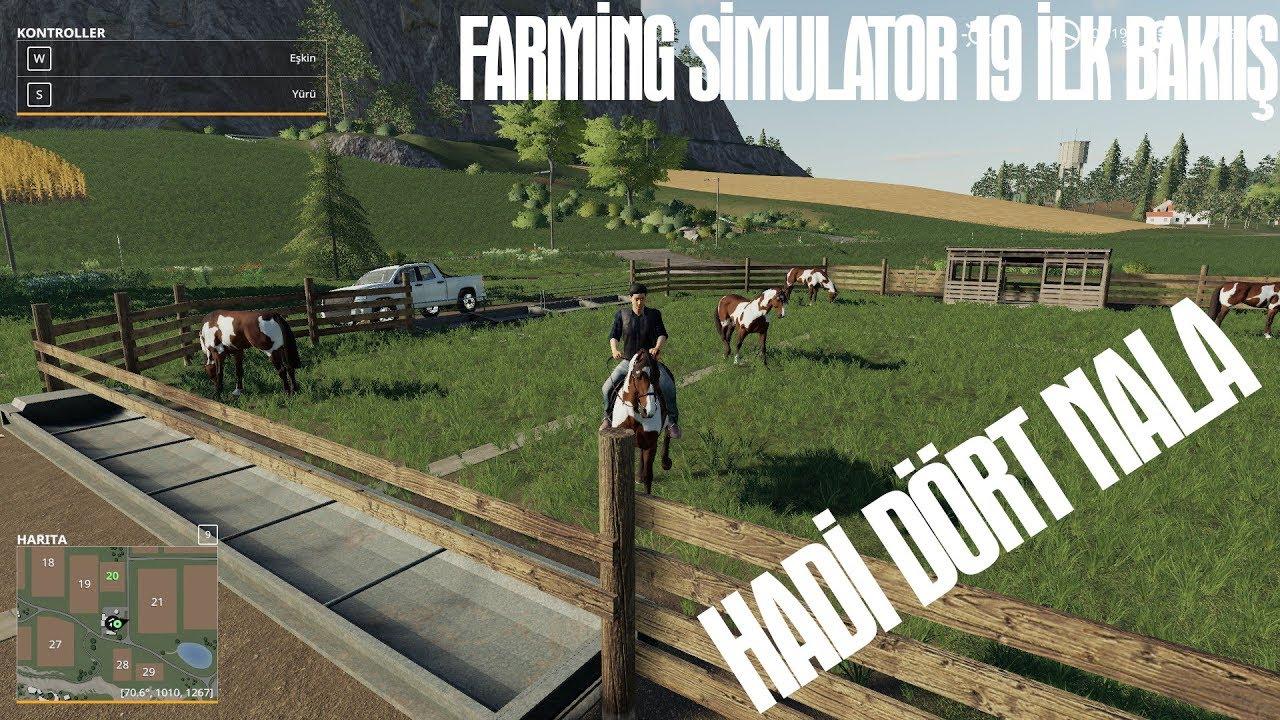 ÇİFTLİĞİ KURUYORUZ | Farming Simulator 19 (Türkçe oynanış) | Bölüm 1