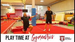 PLAYTIME & Behind the scenes at gymnastics | School of Calisthenics