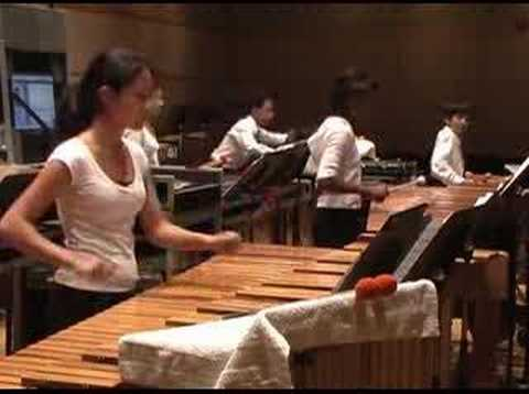 Shostakovich 10th Symphony--The Percussion Scholarship Group