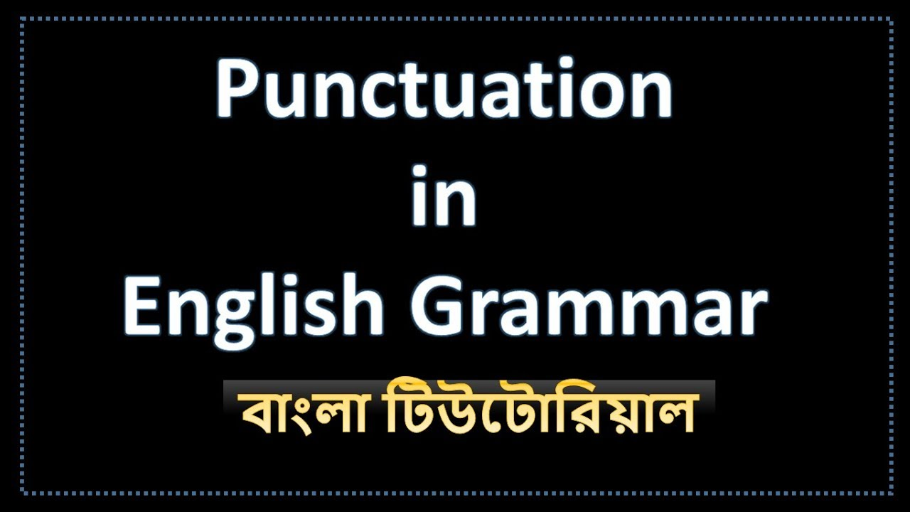 use punctuation