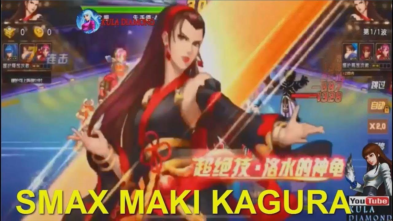 Quyền vương 98 KOF'98:Smax Maki Kagura mới nhưng không mới cùng team Gấu  với trang phục Maki Hanbok