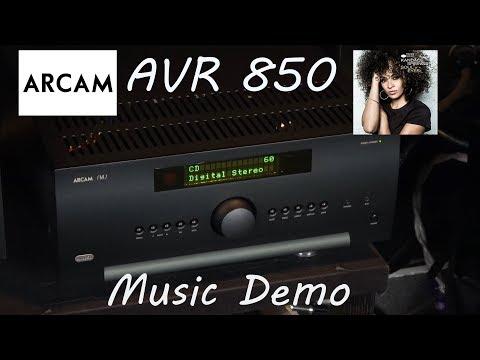 Arcam AVR850 Review Music Demo - Kandace Springs World is Ghetto Home Cinema AV Receiver