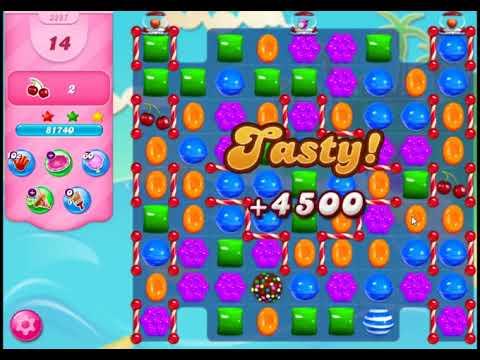 Candy Crush Saga Level 3287 - NO BOOSTERS