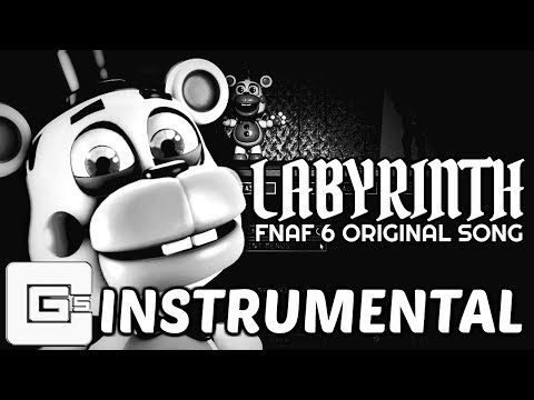 "FNAF 6 SONG ▶ ""Labyrinth"" (Instrumental) 