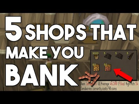 These 5 Unknown Shops in OSRS Can Make you Bank! Oldschool Runescape Money Making Method [OSRS]
