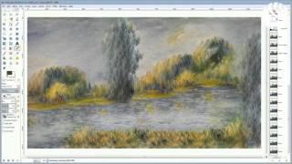Уникальная программа Neural Doodles(РИА_видео Стать художником стало проще: появилась программа, превращающая рисунки из Paint в шедевры с помощ..., 2016-03-11T12:17:41.000Z)