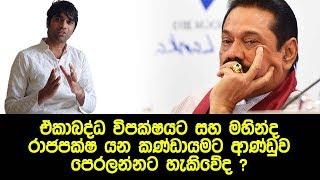 මහින්ද රාජපක්ෂ කණ්ඩායමට ආණ්ඩුව පෙරලන්නට හැකිවේද ? - Combined opposition and Mahinda Rajapaksa Fate