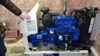 Дизельный генератор для дома на примере ДГУ FG Wilson P14, обзор