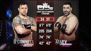 PFL Full Fight Friday: Sean O'Connell vs. Bozigit Ataev