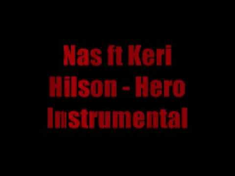 Download Nas ft Keri Hilson Hero - Instrumental