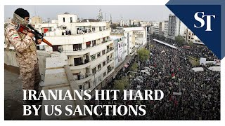Iranians hit hard by US sanctions | The Straits Times
