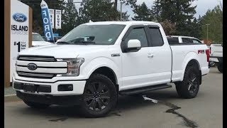 2018 Ford F-150 Lariat FX4 Sport  Ecoboost SuperCab Review| Island Ford