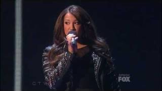 The X Factor 2011 USA  Top 5   Melanie Amaro  - Someone like you
