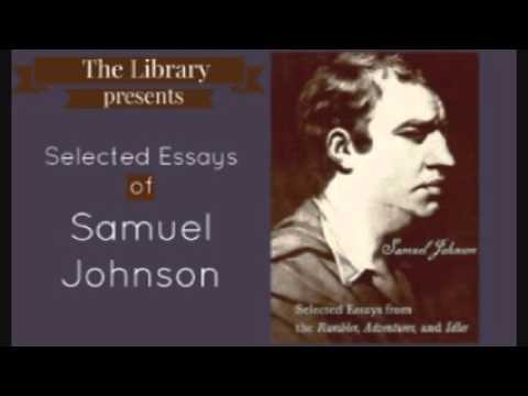 Selected Essays of Samuel Johnson - Audiobook ( Part 2/2 )