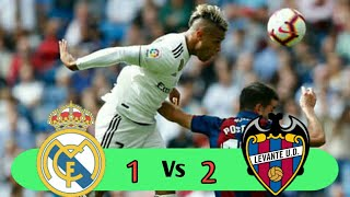Download Video REAL MADRID vs LEVANTE 1-2 | HIGHLIGHTS & GOAL 20/10/2018 MP3 3GP MP4