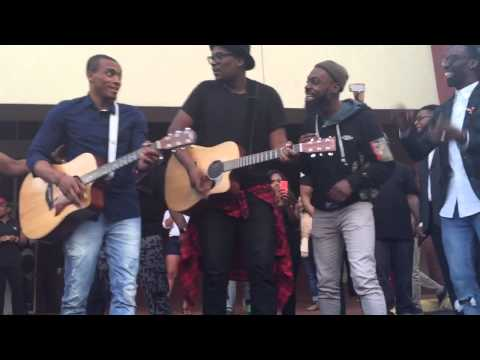 Tye Tribbett, Mali Music, Jonathan McReynolds, Travis green, and Kj Scriven sings