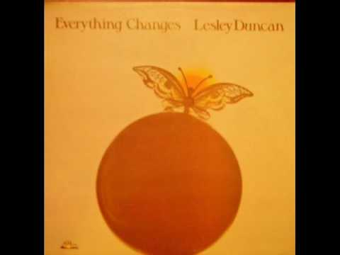 Lesley Duncan - Everything Changes