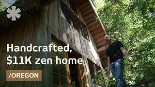 Zen Forest House: 11k, Handcrafted, Small Home In Oregon