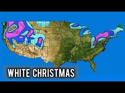 White christmas forecast