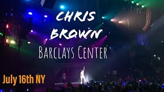 CHRIS BROWN Concert Brooklyn NY