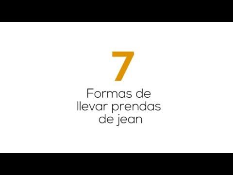 7 Formas de llevar prendas de jean