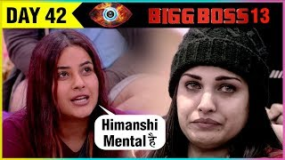 Housemates Claims Himanshi Khurana WEAK Contestants | Shehnaz INSULTS |  Bigg Boss 13 Episode Update
