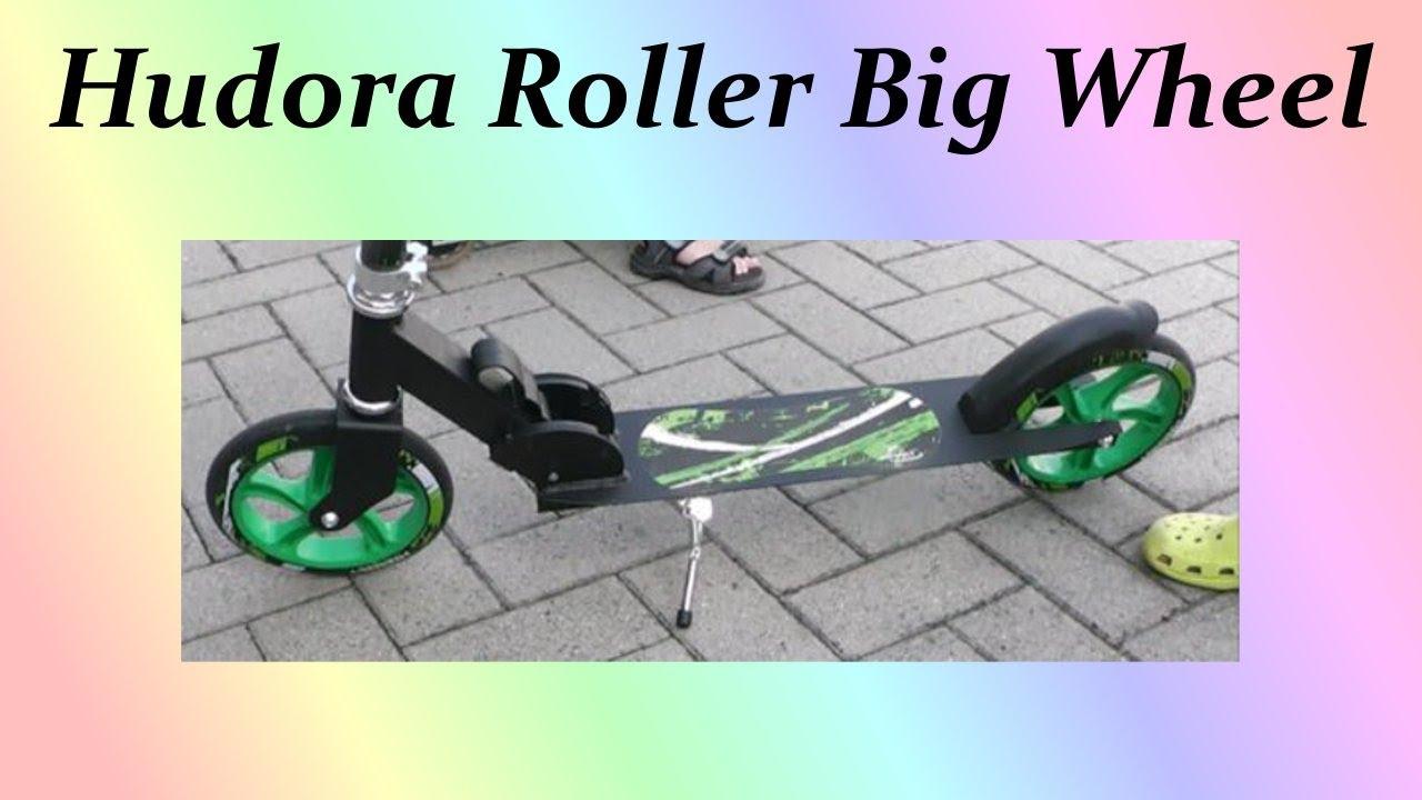 hudora roller big wheel 205 testbericht youtube. Black Bedroom Furniture Sets. Home Design Ideas