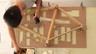 Assembly of Bamboobee BIY Bike Kit