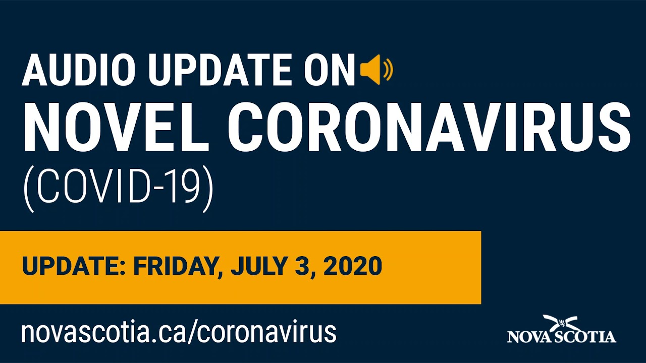 Audio Update on COVID-19: Dr. Strang – Friday, July 3, 2020